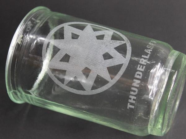 Glass laser engraver
