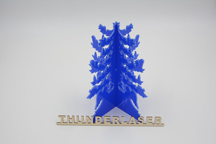 Acrylic pine laser cutter