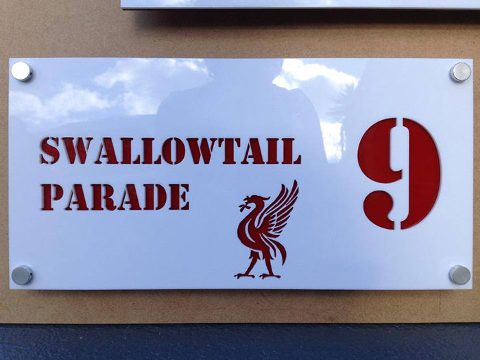 Acrylic Signage laser cutter
