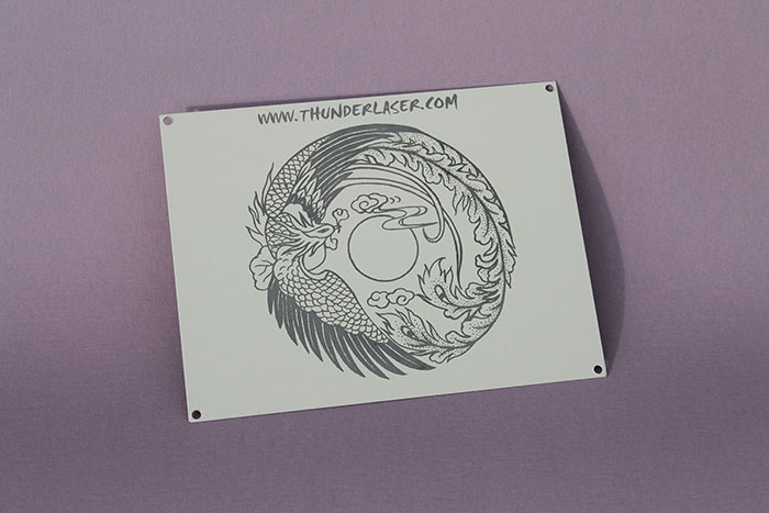Phoenix Coated-Metal laser engraver