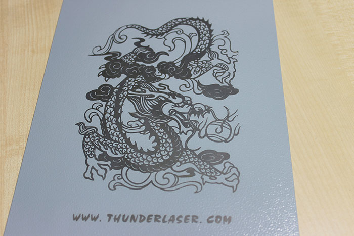 dragon Coated-Metal laser engraver