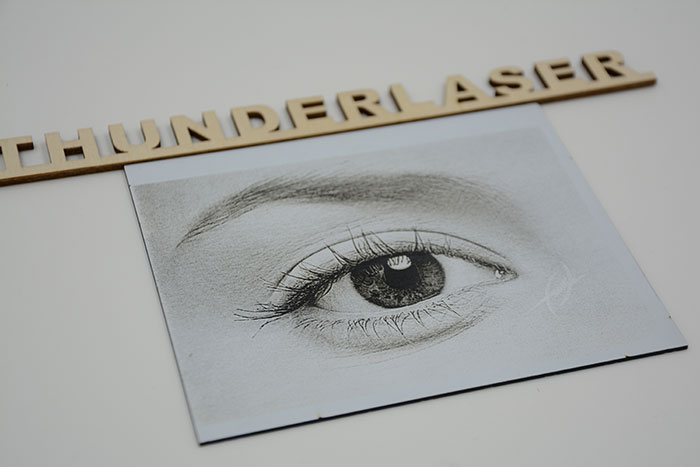 eyes Double-Color-Abs laser engraver