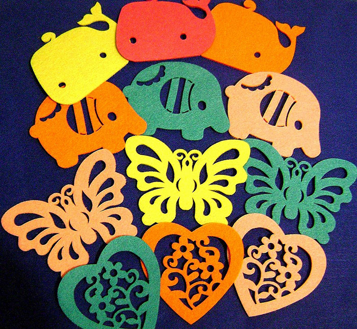 Colorful animals Foam laser engraver