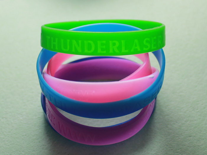 wristband Silicon-photo laser engraver