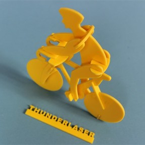 Laser acrylic cutting – bicycle model