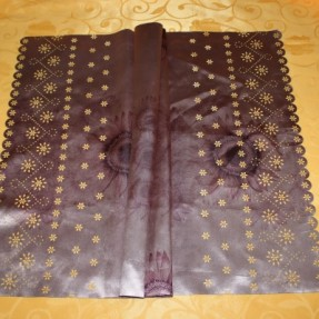 Laser fabric cutting – cloth cover for fridge