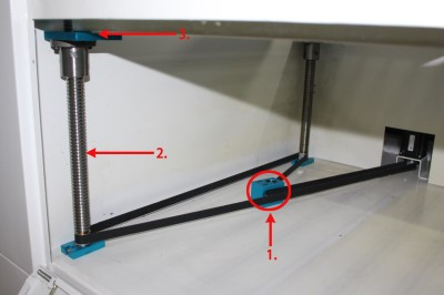 How to calibrate the working table to level.