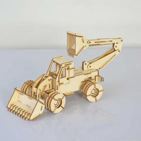 How to make a backhoe