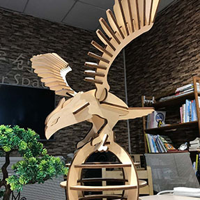 How To Make A Wooden Eagle