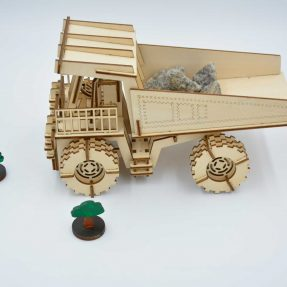How to make a Mining Truck