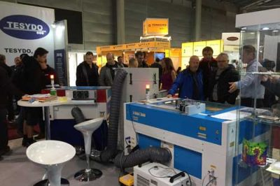 Thunder LASER attended the BVV Trade Fairs Brno 2019