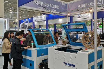 Thunder LASER attended the 27th Korea International Sign & Design Show